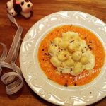 Gnocchi di patate con gorgonzola e crema di zucca