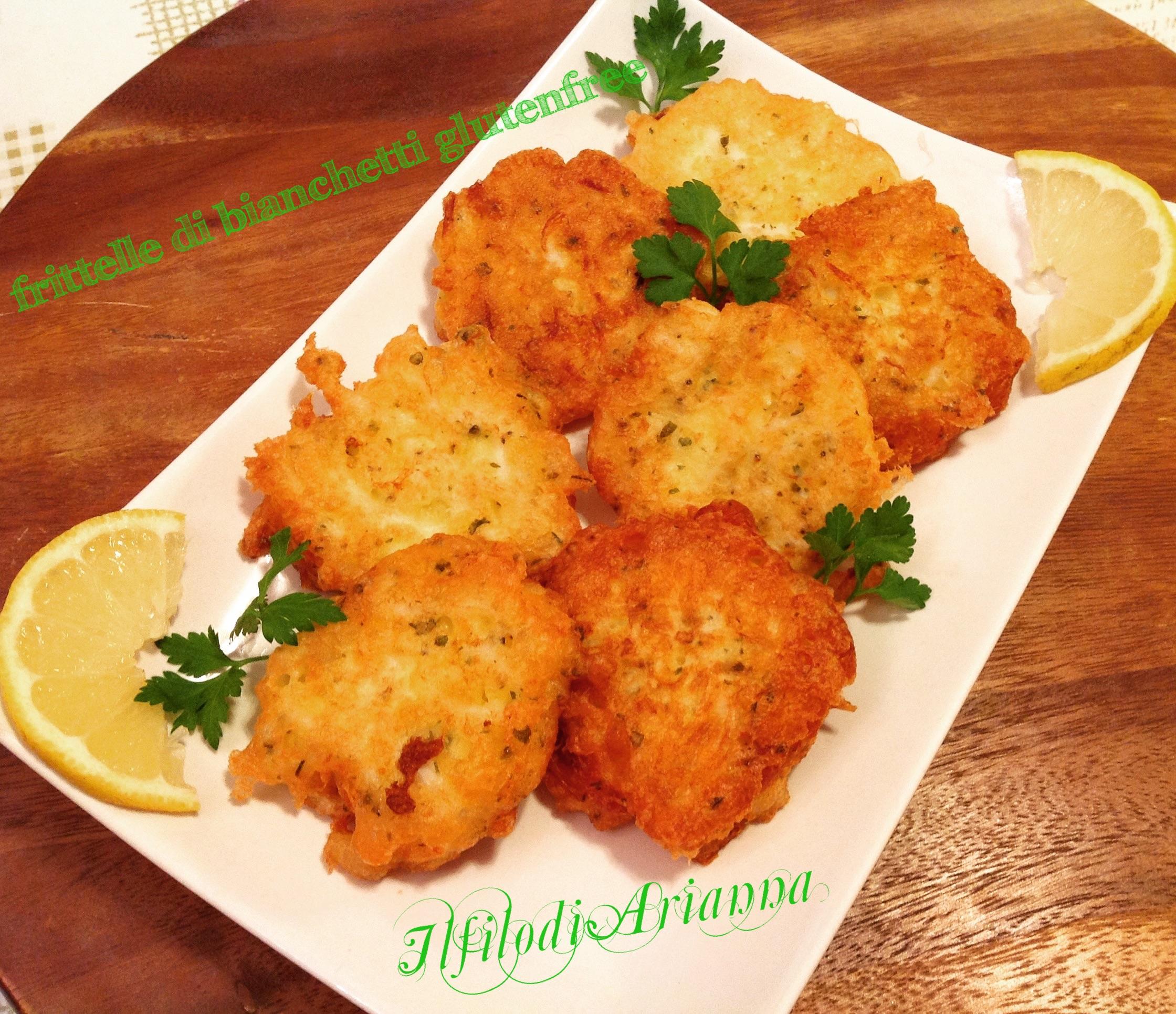 frittelle di bianchetti delicate glutenfree