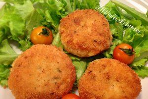 Polpette di pesce e patate saporite e ricche
