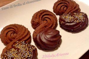 Biscotti Esse di frolla al cioccolato di Massari