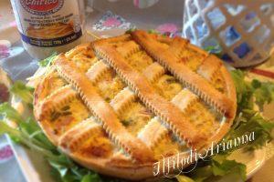 Pastiera salata con grano cotto saporita