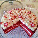 Red Velvet, di Knam, torta di velluto