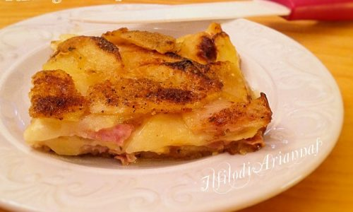 Parmigiana di patate al forno gustosissima