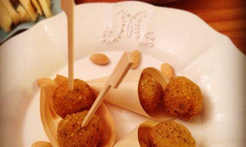 Polpettine gamberetti, patate e lime delicatissime
