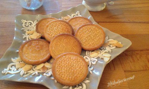 Biscotti di pasta frolla aromatizzata agli agrumi