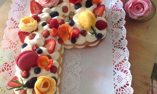 Tart cream con farina di mandorle e camy cream