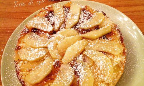 Torta di mele caramellate cotta in padella