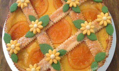 Crostata sablè con delicata crema all'arancia
