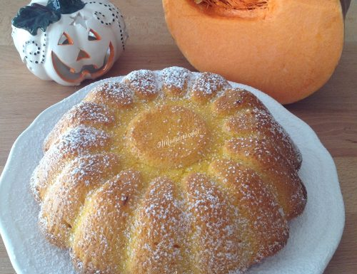 Torta di zucca arancia e cioccolato senza glutine