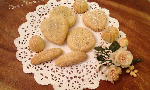Maamoul biscotti libanesi ripieni e profumati