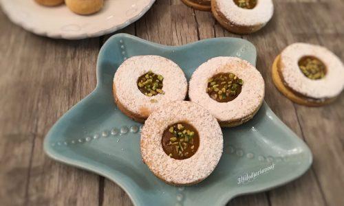 Biscotti con farina di mais a limone senza glutine