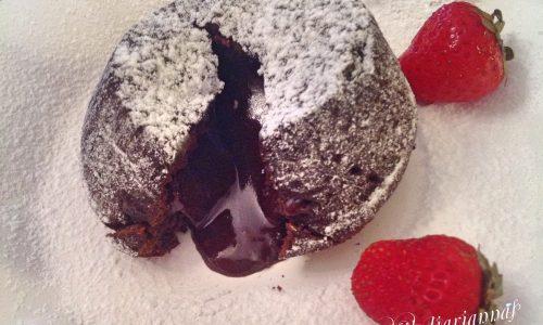 Tortino al cioccolato dal cuore morbido e profumato