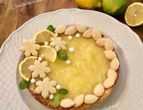 Crostata morbida a limone di Broxani