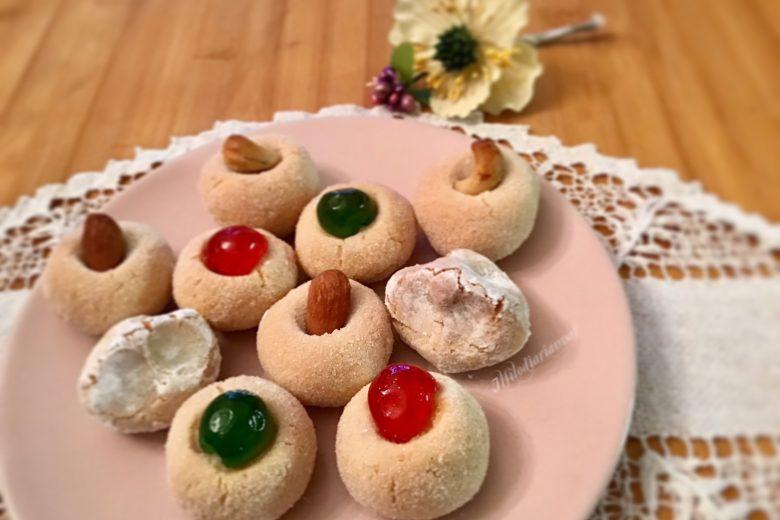 Dolcetti di pasta di mandorle siciliani