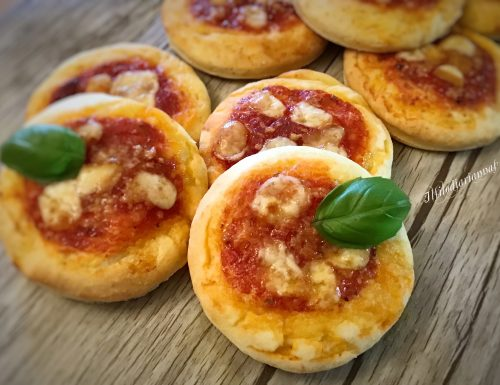 Pizzette al philadelphia velocissime