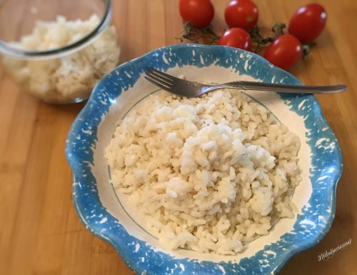 Riso in bianco parboiled in vasocottura