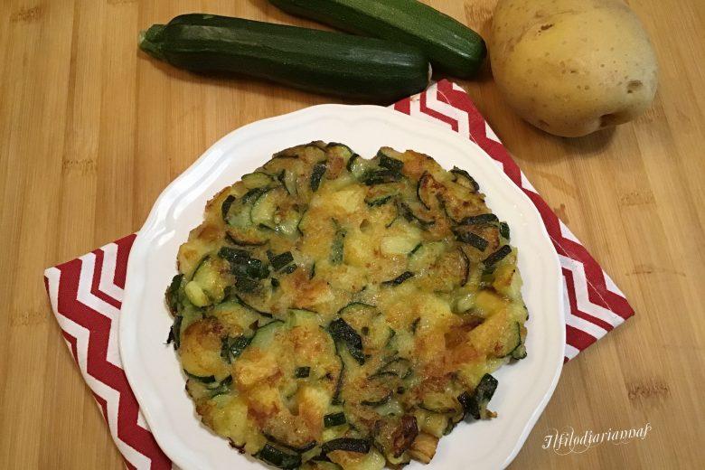 Frittata di verdure senza uova glutenfree