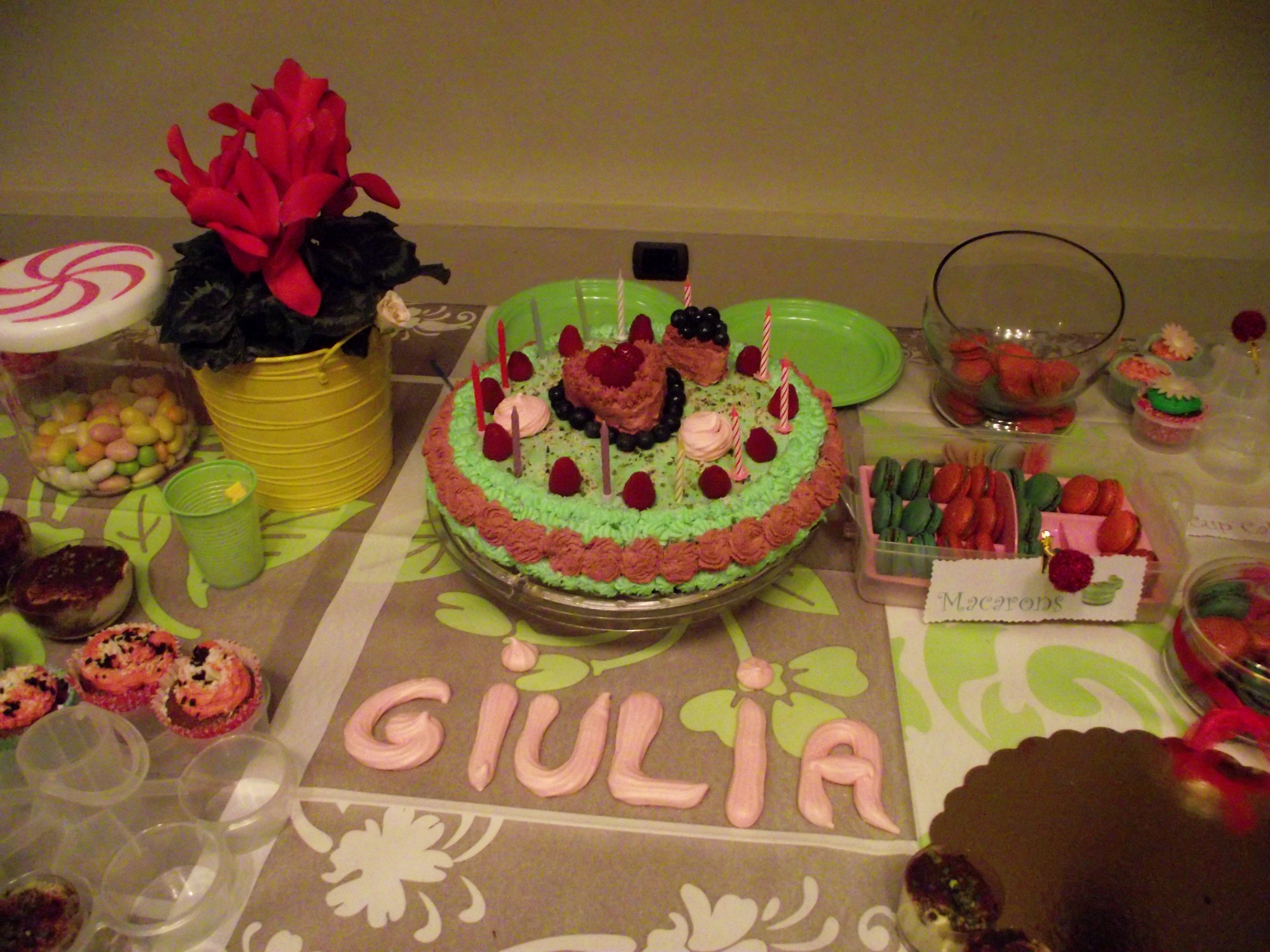 Buffet di Compleanno per la mia Giulia