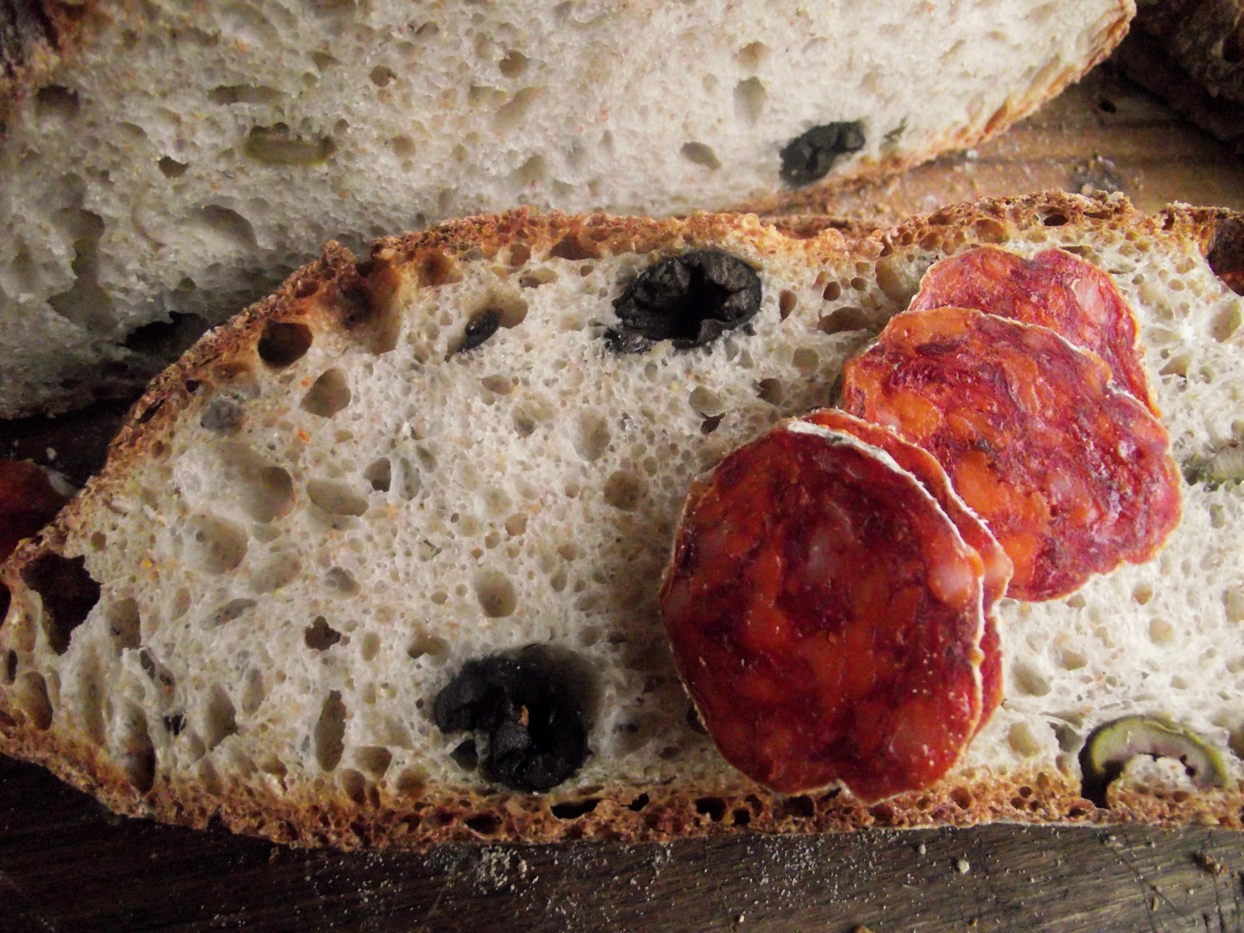 Pane con Olive Lievitazione mista