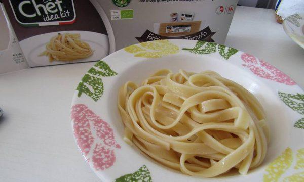 Fettuccine al tartufo i piatti pronti di Chef idea Kit