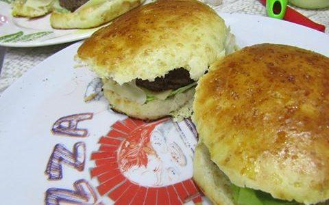 Panini per hamburger (burger buns)