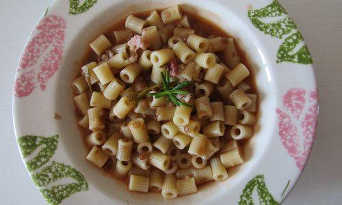 Pasta e lenticchie rustica