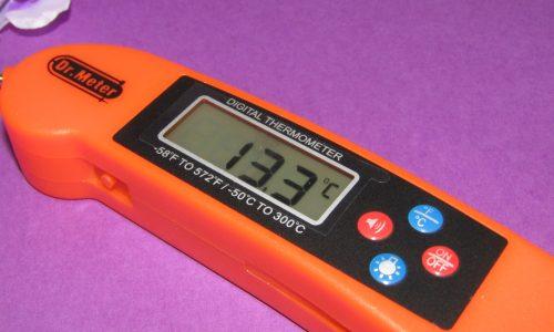 Dr Meter il termometro digitale per perfezionare la cottura dei cibi