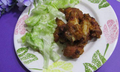 Ali di pollo alla Paprika