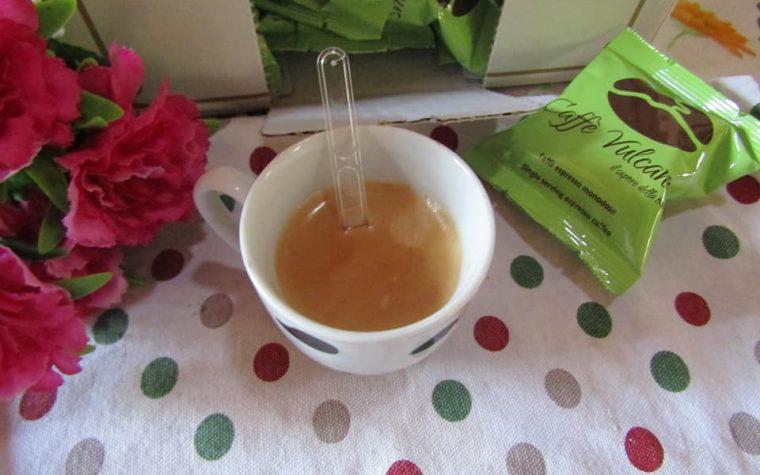 Caffè Vulcanus capsule e cialde della tradizione napoletana
