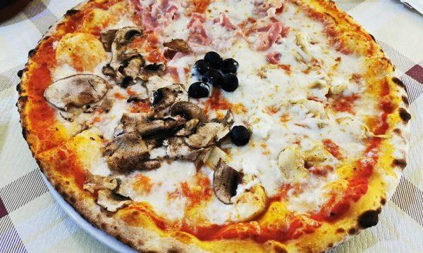 Pizzeria Al Ranch Simala a Baradili, pizza altamente digeribile