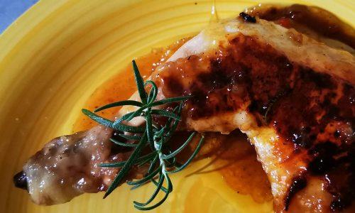 Cosce di pollo alla gelatina di birra BirrArpa