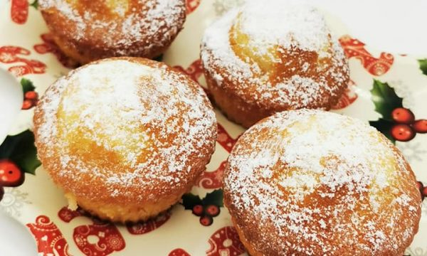 Muffin senza burro ai tre sapori, nocciole, limone e cacao