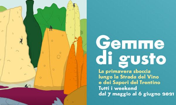 Gemme di gusto | Trentino, tutti i weekend dal 7 maggio al 6 giugno