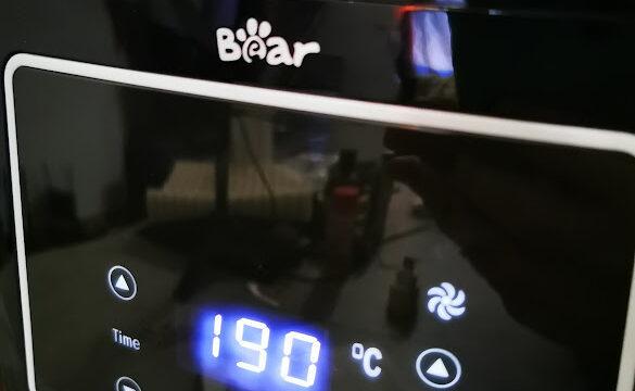Friggitrice ad aria Bear, capiente, facile da usare e prestazionale