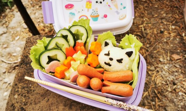 Bento Kyaraben con lunch box personalizzata Petit Fernand