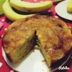 Torta rovesciata di banane caramellate