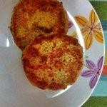 Burger vegetali ai funghi