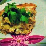 Lasagna di patate con scottona, crudo e mozzarella