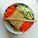 Noodles speziati con verdurine in 5 minuti!