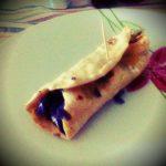 Mini Wrap con cavolo viola e formaggio