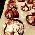 Biscotti spaccati al cioccolato-morbidi e veloci!