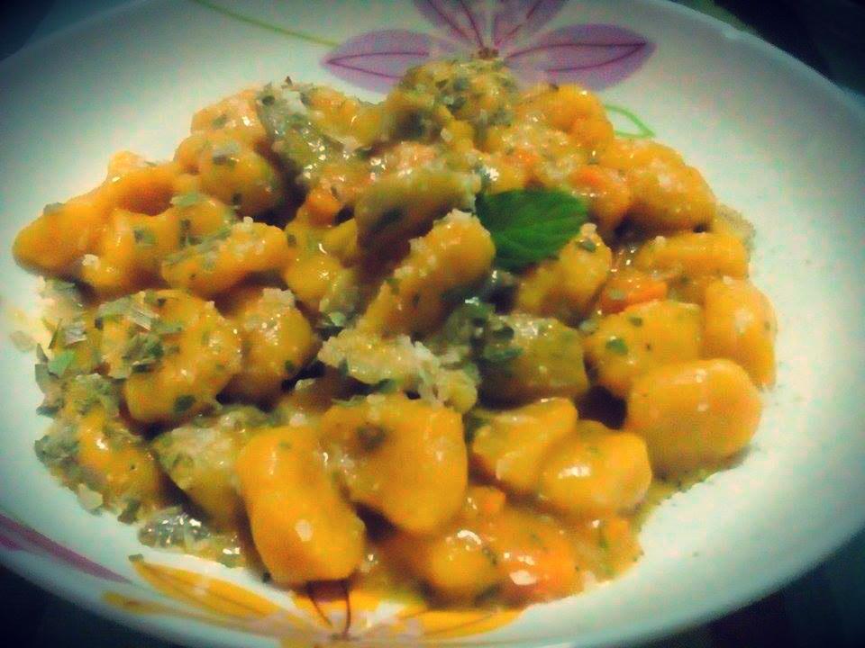 Salsa autunnale al Vermouth - per gnocchi e pasta