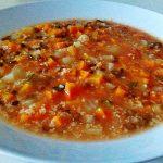 Zuppa di miglio all'ortolana (Vegan!)