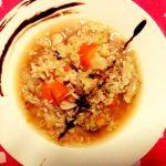 Minestra di riso con verza e patate