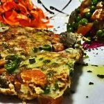 Frittata vegetariana leggera e saporita