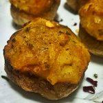 Funghetti ripieni di patata cremosa