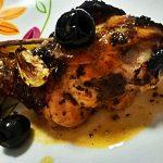 Fuselli arrosto glassati con salvia e olive nere
