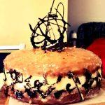 Torta Floriana con crema al formaggio & Ganache