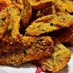 Alici dorate e fritte