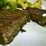 Burger veg con spinaci e lenticchie